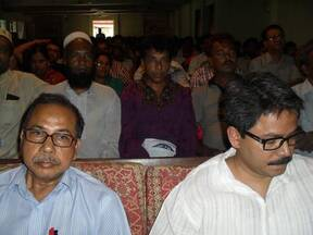 SUJON Rajshahi city Mayor election candidate commitment program