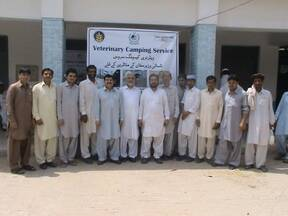 Veterinary Camping Service at Bannu for Internally Displaced Persons of North Waziristan