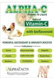 ALPHA -C : Natural Vitamin -C Product for Poultry and Swine