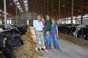 VILOFOSS advice and feed optimization with ProtiSpar on the dairy farm.