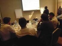 Dr Stephen Adejoro brieving ADEPTA Delegates to Nigeria ON livestock business in Nigeria