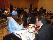 ADEPTA (Franch Delegates) on a B2B  Business meeting with livestock farmers inNigeria co ordinated by Dr Stephen Adejoro in 20014