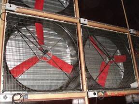 Fans with large capacity