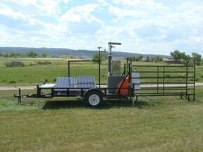 GreenFeed portable self-contained trailer