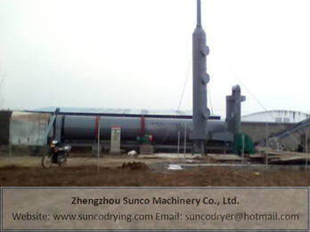 Cow Dung Dryer Machine for drying and dewatering cattle manure