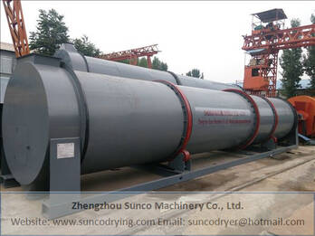 Poultry Manure Drying Machine for drying chicken manure as organic fertilizer