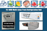 Transport Refrigeration System Used to Transport Frozen Fish
