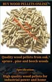 BUY WOOD PELLETS ONLINE GRADE A DIN + WOOD PELLET