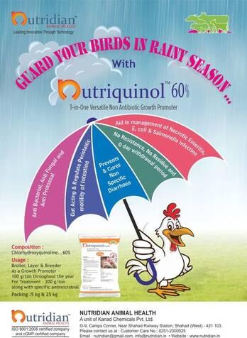 Nutriquinol 60% and Nutriquinol 12.5%