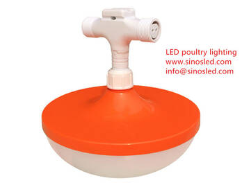 Waterproof IP67 Dimmable LED Poultry Lighting Sunik For Chicken Barn