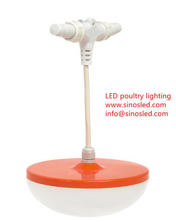 Waterproof IP67 LED Poultry Lighting Pulsa  For Chicken Farm Shed