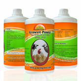Growvit Power is An Strongest & Most Powerful Vitamin AD3E,which gives immediate result in Cattle an