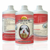 Grow Cal D3 A Powerful Calcium for Cattle & Poultry with Extra Zinc Magnesium.