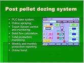 Post Pellet Liquid Application system