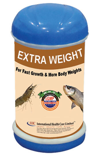 EXTRA WEIGHT FOR RAPID GROWTH PERFORMANCE IN SHRIMPS & FISHES- IHCL, PVS GROUP