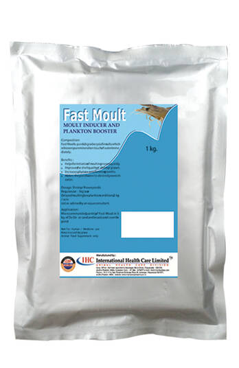 FALT MOULT- FOR  REGULATE THE NORMAL MOULTING IN SHRIMPS -IHCL-PVS GROUP