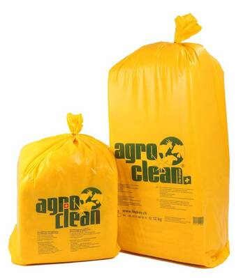 agroclean® udder wood wool - udder hygiene - completely without chemicals