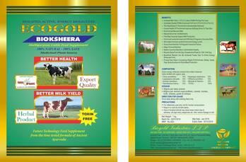 ECOGOLD BIOKSHEERA   A 100% NATURAL CATTLE FEED SUPPLEMENT  CERTIFIED ORGANIC