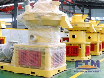 Granulating System of FTM Sawdust Pellet Mill