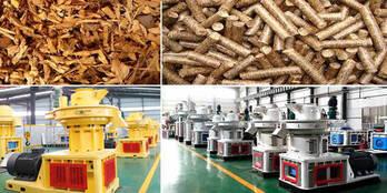 China Straw Pellet Mill/Large Straw Pellet Machine/Straw Pellet Mill