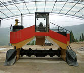 Animal Manure Compost Turner, Hydraulic Compost Windrow Turner