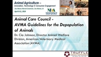 AVMA Guidelines for the Depopulation of Animals