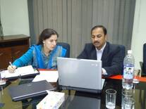 Meeting with Canadian NGO MEDA