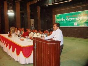 Environmental olympyed at Rajshahi