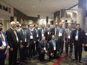 IPPE 2017 officials from Pakistan