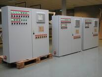 Panel box with touch screen user interface