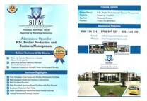 B.Sc Poultry production and business management brochure