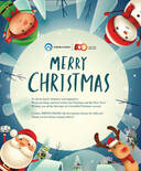 Warm greetings and best wishes for Christmas!