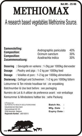 METHIOMAX - HERBAL METHIONINE