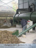 Chicken Manure Dryer Machine for drying poultry manure to protect the environment